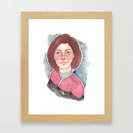 StarShip Captain Framed Art Print