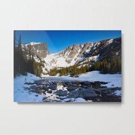Dream Lake Sunrise Metal Print