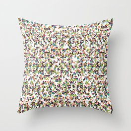 Rice Orchestra Throw Pillow