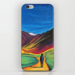 Mendoza walking iPhone Skin