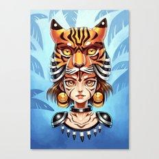 Tiger Tribe Canvas Print