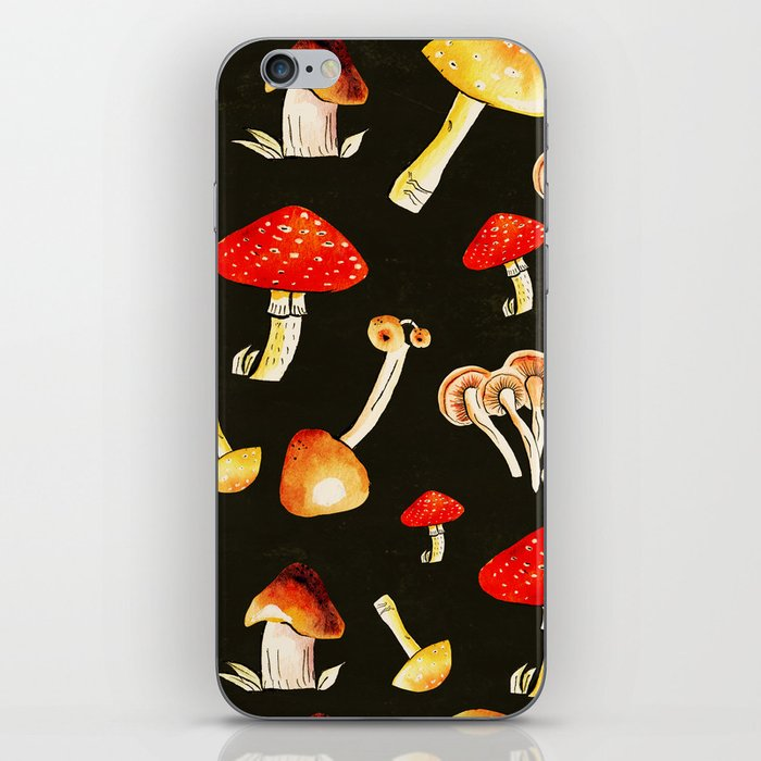 Brigt Mushrooms iPhone Skin