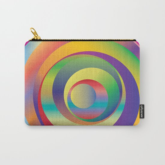 Circles - Optical Game 9 Carry-All Pouch