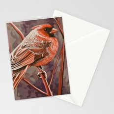 Northern Cardinal Male Stationery Cards