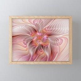Abstract Butterfly, Fantasy Fractal Framed Mini Art Print