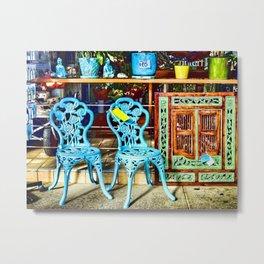 Sidewalk Sale Metal Print