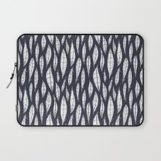 Quail Feathers (Midnight) Laptop Sleeve
