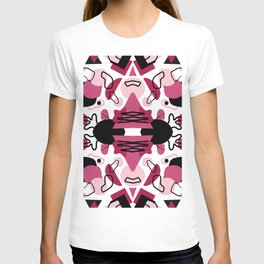 Abstraction in vibrant colors T-shirt