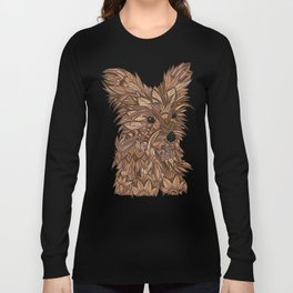 Cute Yorkie Long Sleeve T-shirt