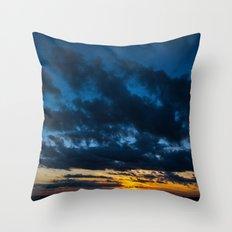 Sky Drama Throw Pillow