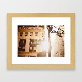 42nd Framed Art Print
