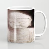 buddah Mugs featuring Buddah 1 by Linda K. Photography & Design