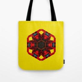 Abstract geometric Hexa Tote Bag