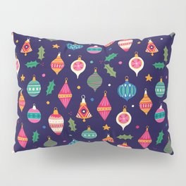 Christmas ornaments pattern Pillow Sham