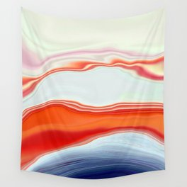 Clamshell Abstract Wall Tapestry