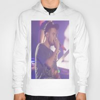 liam payne Hoodies featuring Liam Payne by Halle