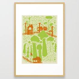 Forces of Nature Framed Art Print