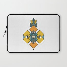 Five Eyes and Feathers Laptop Sleeve