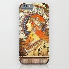 Alphonse Mucha La Plume Zodiac Slim Case iPhone 6s