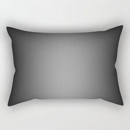 Black to Gray Vertical Bilinear Gradient Rectangular Pillow