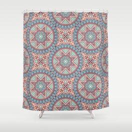 Wanza Print Shower Curtain