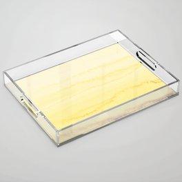 WITHIN THE TIDES - SUNNY YELLOW Acrylic Tray