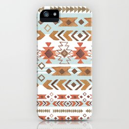 Full Moon Boho Tribal iPhone Case