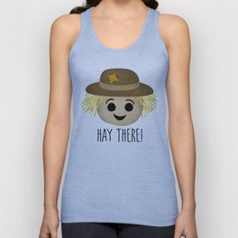 Hay There! Unisex Tank Top