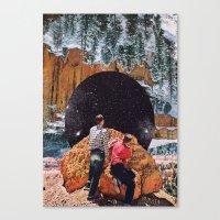 vertigo Canvas Prints featuring Vertigo by Brandon Dail