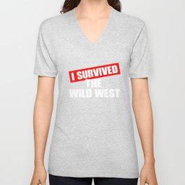 Wild West Collectible Survived Wild West Unisex V-Neck