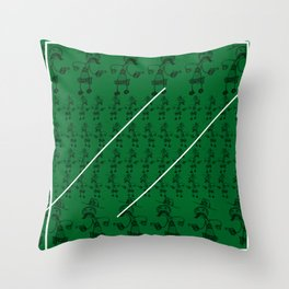 The sheriff the wildwest and the Pencil Throw Pillow