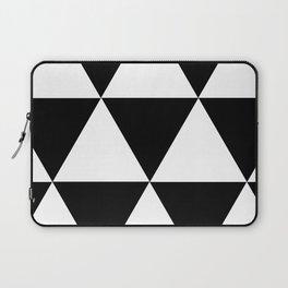 Black and White Triangular Laptop Sleeve