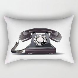 Vintage bakelite telephone Rectangular Pillow