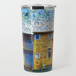 Buenos Aires Travel Collage Travel Mug