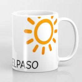 Pray for el paso hashtag B.Luvid Coffee Mug