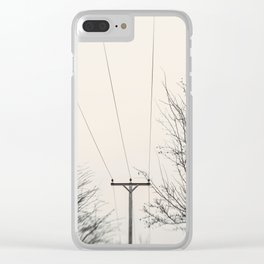 Echoes in the Air Clear iPhone Case
