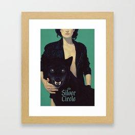 the Silver Circle Framed Art Print