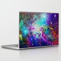 fox Laptop & iPad Skins featuring Fox Nebula by Starstuff