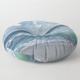Sea Green Floor Pillow