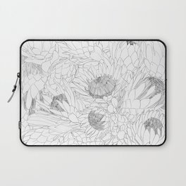 King and Queen Proteas Laptop Sleeve