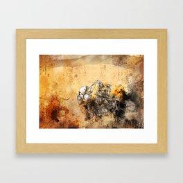 Remix soul Framed Art Print