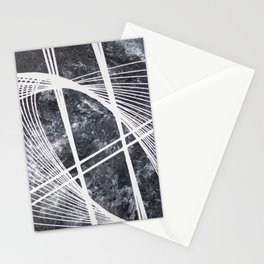 #5 MODERN ABSTRACT PAINTING Stationery Cards