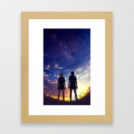 Seele Framed Art Print