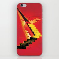 revolution iPhone & iPod Skins featuring Revolution by Andrej Balaz