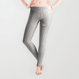 Heart Shape Pattern #society6 #decor #buyart Leggings