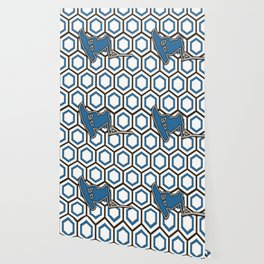 Wakeboard Stunt Water Sports Pattern Design Wallpaper