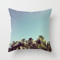 Also Palms Throw Pillow