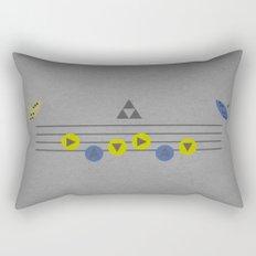 The Song of Time Rectangular Pillow