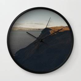 Last light of day Wall Clock