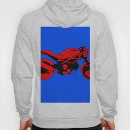 Red motorcycle for bike lovers Hoody